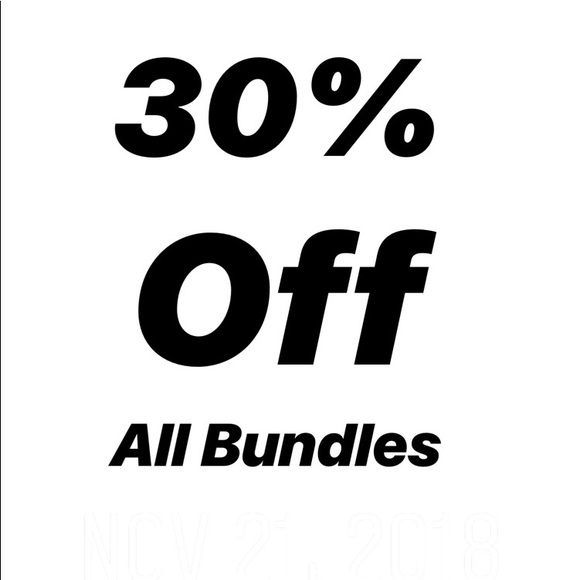Other - Best value when you bundle 3 or more items.